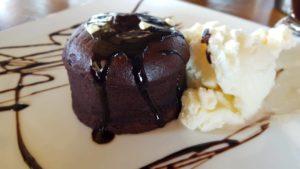 czekoladowe souffle