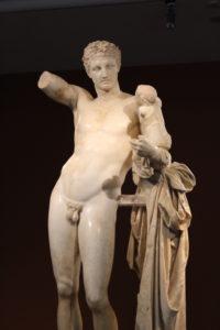 Hermes z Dionizosem - Olimpia